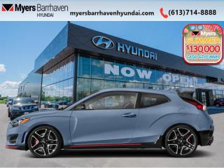 New 2020 Hyundai Veloster N Performance  - Heated Seats - $209 B/W for sale in Nepean, ON