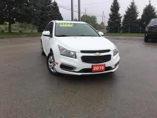 Used 2016 Chevrolet Cruze Limited 1LT ONE OWNER NON SMOKER for sale in Grimsby, ON