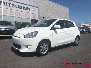 Used 2015 Mitsubishi Mirage 4dr HB CVT SE for sale in St-Hubert, QC