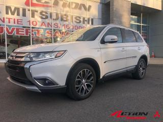 Used 2017 Mitsubishi Outlander GT AWD+TOIT+CUIR+MAGS 18P+7PLACES+APPLE CARPLAY+++ for sale in St-Hubert, QC
