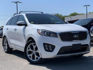 Used 2017 Kia Sorento 3.3L SX LEATHER, NAVIGATION, HEATED STEERING WHEEL for sale in Midland, ON