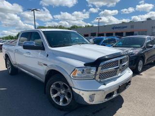 Used 2015 RAM 1500 Laramie LEATHER HEATED SEATS, REVERSE CAMERA for sale in Midland, ON