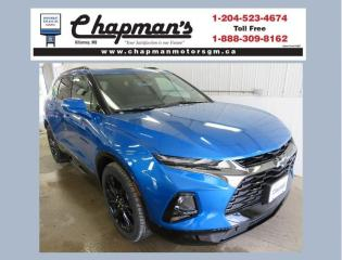 New 2020 Chevrolet Blazer RS Remote Start, Rear Camera, Dual Panel Sunroof for sale in Killarney, MB