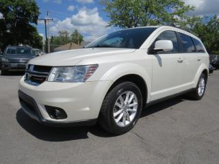 Used 2013 Dodge Journey SXT *V6* BLANC PERLE MAGS AUTOMATIQUE A/C for sale in St-Eustache, QC
