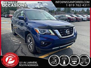 Used 2017 Nissan Pathfinder SL for sale in Rouyn-Noranda, QC