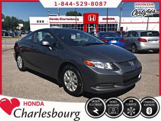 Used 2012 Honda Civic COUPE LX **AUCUN ACCIDENT** for sale in Charlesbourg, QC