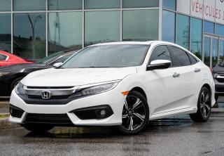 Used 2018 Honda Civic Touring 1.5L TURBO NAVI CUIR CUIR TOIT NAVI HONDA SENSING++ for sale in Lachine, QC