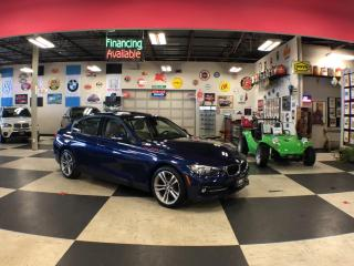 Used 2016 BMW 3 Series 320I X DRIVE SPORT PKG AUT0 P/SUNROOF 29K for sale in North York, ON