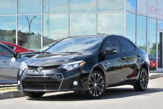 Used 2016 Toyota Corolla S AUTO TOIT MAGS BLUETOOTH AUTO TOIT MAGS BLUETOOTH for sale in Lachine, QC