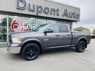 Used 2015 RAM 1500 Cabine quad 4RM, 140,5po Outdoorsman for sale in Alma, QC