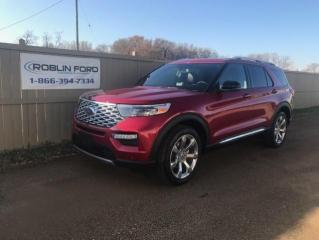 New 2020 Ford Explorer Platinum for sale in Roblin, MB
