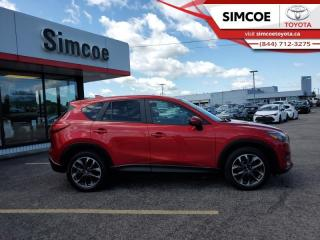 Used 2016 Mazda CX-5 GT  - Navigation -  Leather Seats - $145 B/W for sale in Simcoe, ON