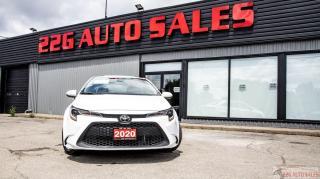 Used 2020 Toyota Corolla LE for sale in Brampton, ON