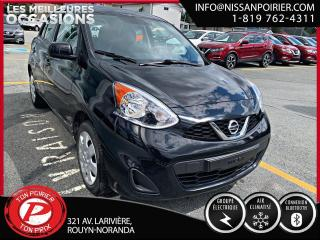 Used 2017 Nissan Micra SV for sale in Rouyn-Noranda, QC