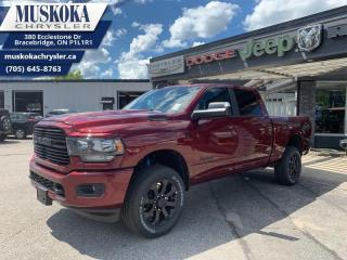 New 2020 RAM 2500 Big Horn  - Sunroof - Navigation for sale in Bracebridge, ON