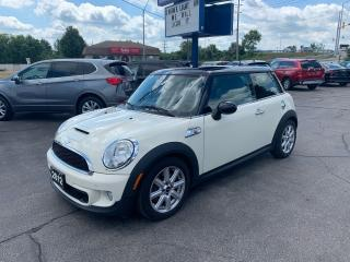 Used 2012 MINI Cooper S for sale in Brantford, ON