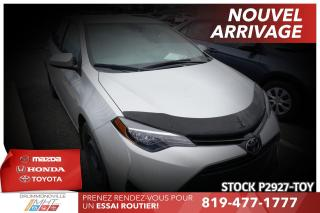 Used 2017 Toyota Corolla AUTOMATIQUE| BAS KILO| ENTRETENU CHEZ TOYOTA for sale in Drummondville, QC