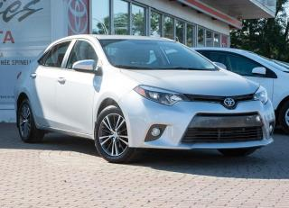 Used 2016 Toyota Corolla LE UPGRADE for sale in Pointe-Claire, QC