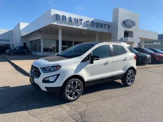 New 2020 Ford EcoSport SES for sale in Brantford, ON