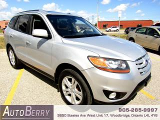 Used 2010 Hyundai Santa Fe Limited - AWD - Navi for sale in Woodbridge, ON