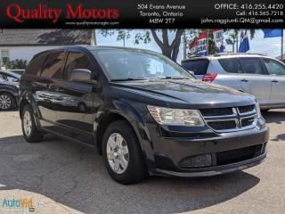 Used 2012 Dodge Journey Canada Value Pkg for sale in Etobicoke, ON