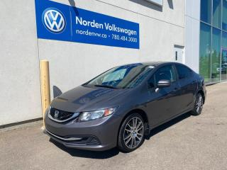 Used 2014 Honda Civic Sedan EX 5SPD M/T - SUNROOF / HEATED SEATS for sale in Edmonton, AB