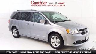 Used 2019 Dodge Grand Caravan Crew Plus 3.6L V6, Heated Leather Seats, Quad Seat for sale in Winnipeg, MB
