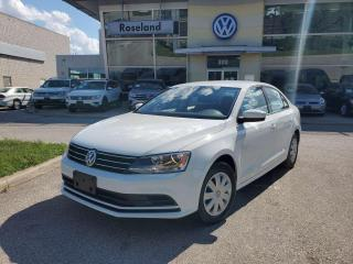 Used 2017 Volkswagen Jetta Sedan Trendline+ 4dr FWD Sedan for sale in Burlington, ON