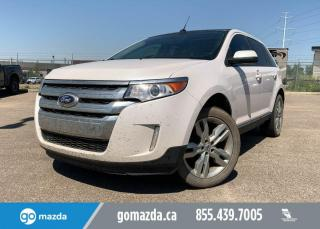Used 2013 Ford Edge SEL - AWD, NAV, LEATHER, PANO ROOF, REMOTE START, BACK UP, GREAT FAMILY STARTER VEHICLE for sale in Edmonton, AB