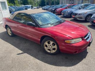 Used 1998 Chrysler Sebring JXI/ CONVERTIBLE/ AUTO/ LEATHER/ ALLOYS/ PWR GROUP for sale in Scarborough, ON