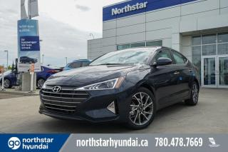 New 2020 Hyundai Elantra LUXURY- PUSH BUTTON/LEATHER/PANORAMIC SUNROOF/APPLE CAR PLAY/BACK UP CAM for sale in Edmonton, AB