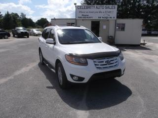 Used 2010 Hyundai Santa Fe AWD LIMITED for sale in Elmvale, ON