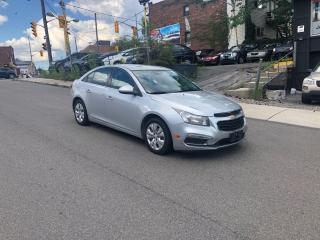 Used 2016 Chevrolet Cruze LT/AUTO/CAM/APPLECONFIG/CERTIFIED/3MONTHWARR for sale in Toronto, ON
