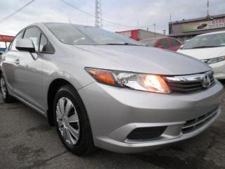 Used 2012 Honda Civic LX for sale in Brampton, ON