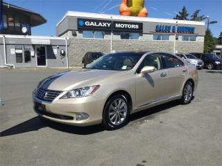 Used 2012 Lexus ES 350 NAV Heated Seats Moonroof for sale in Victoria, BC