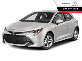New 2020 Toyota Corolla CVT UPGRADE PKG for sale in Winnipeg, MB