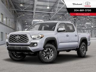 New 2020 Toyota Tacoma 4x4 Double Cab Auto SB TRD OFF ROAD PREMIUM for sale in Winnipeg, MB