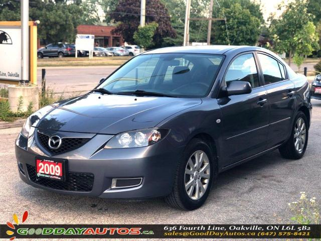 2009 Mazda MAZDA3 GS|LOW KM|NO ACCIDENT|SINGLE OWNER|CERTIFIED