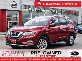 Used 2017 Nissan Rogue SV Tech   NVI   Pano   360 CAM   Heated Steering for sale in Richmond Hill, ON