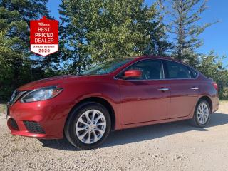 Used 2017 Nissan Sentra SV *HEATED SEATS - REAR CAMERA - SUNROOF* for sale in Winnipeg, MB