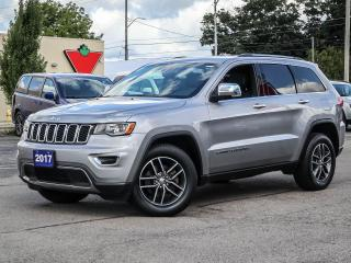 Used 2017 Jeep Grand Cherokee Limited | Leather | Sunroof | Navigation for sale in Simcoe, ON