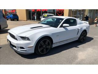 Used 2014 Ford Mustang GT Coupe- Heated Seats, Leather, Bluetooth! for sale in Kingston, ON