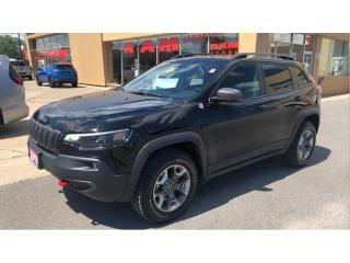 Used 2019 Jeep Cherokee Trailhawk 4x4- Nav, Power Lift Gate, Remote Start! for sale in Kingston, ON