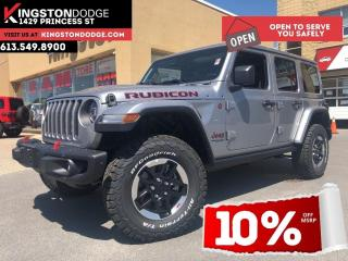 New 2020 Jeep Wrangler Unlimited Rubicon   Leather Interior   Dual Tops   Navigatio for sale in Kingston, ON