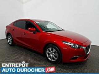 Used 2017 Mazda MAZDA3 GX Vitres Électriques - Portes Électriques for sale in Laval, QC
