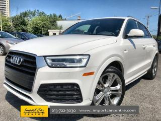 Used 2017 Audi Q3 2.0T Technik S-LINE  LEATHER  PANO ROOF  NAVI  BLI for sale in Ottawa, ON