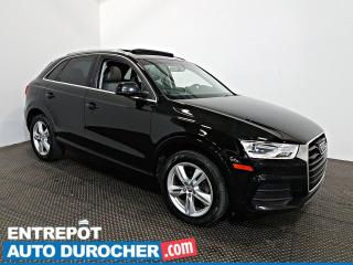 Used 2016 Audi Q3 Progressiv AWD NAVIGATION - Toit Ouvrant - A/C - for sale in Laval, QC