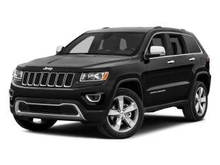 Used 2015 Jeep Grand Cherokee 4WD 4dr Overland for sale in Mississauga, ON