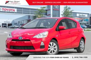 Used 2014 Toyota Prius C for sale in Toronto, ON