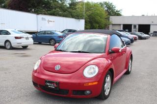 Used 2010 Volkswagen New Beetle Convertible 2.5L Comfortline for sale in Whitby, ON